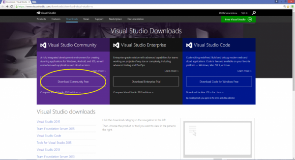 "C# Basic – Lesson 1: Installing Visual Studio and say ""Hello World""!"